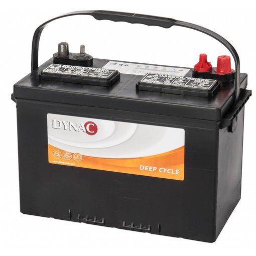 Dynac 12 volt 105 ah type 27 TM Deep Cycle accu