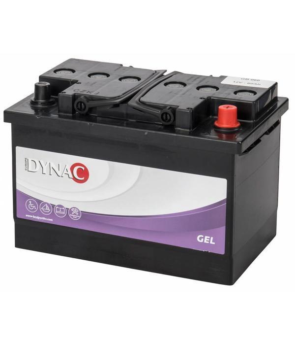 Dynac Gel accu 12 volt 60 ah GB60 B