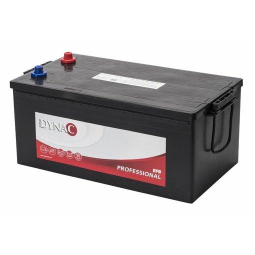 Dynac EFB professional 12 volt 225 ah startaccu type 72550