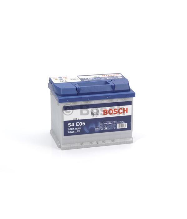 Bosch Accu EFB start-stop 12 volt 60 ah Type S4 E05