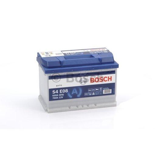 Bosch Auto accu EFB start-stop 12 volt 70 ah Type S4E08