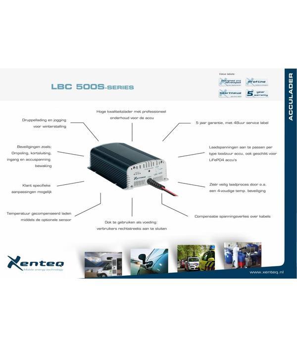 Xenteq LBC 512-20S acculader 12 volt 20 A