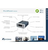 Xenteq ppi-600-224C zuivere sinus inverter / omvormer 24 Volt 600 watt