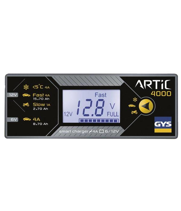 GYS ARTIC 4000 Automatic smart charger 6V/12V - 4A