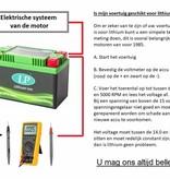 LFP5 12 volt 19,2 Wh Lithium LiFePO4 accu