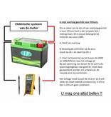 LFP9 12 volt 36.0 Wh Lithium LiFePO4 accu