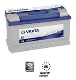 Varta Auto accu 12 volt 95 Ah Blue Dynamic type G3