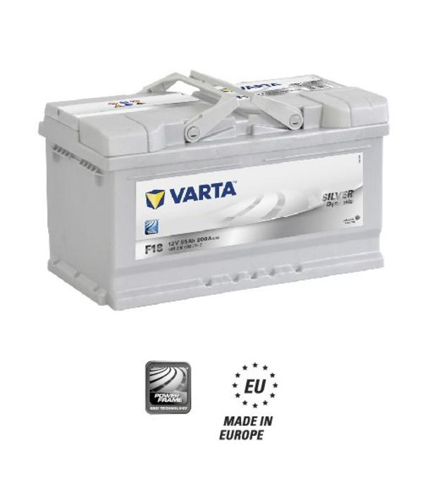 Varta Auto accu 12 volt 85 Ah Silver Dynamic type F18