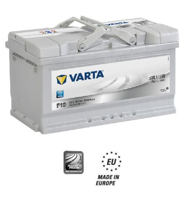 Varta Auto accu 12 volt 85 Ah Silver Dynamic type F19
