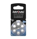 Rayovac Hoorbatterij Acoustic Hearing 675AU blauw (6 stuks)