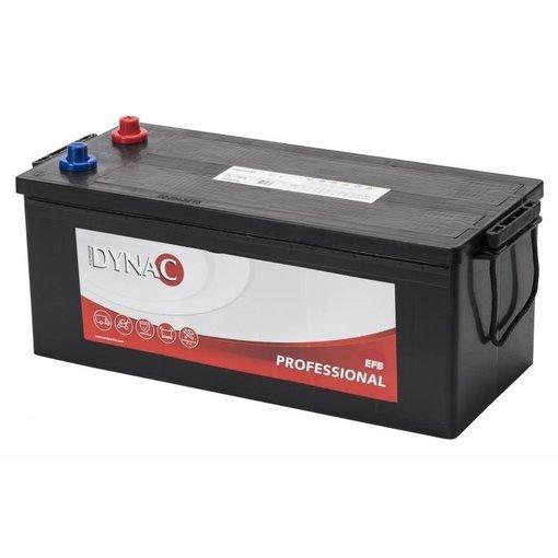 Dynac EFB professional 12 volt 180 ah startaccu type 68050