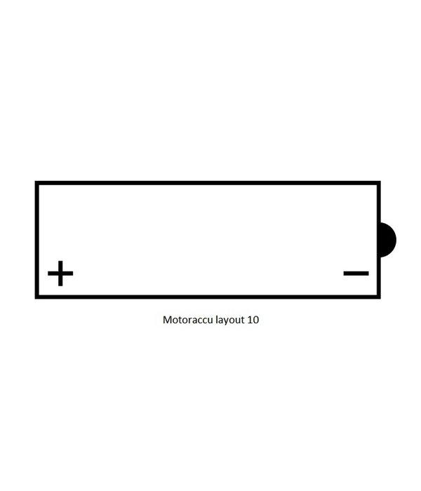 12N7-4B motor accu 12 volt 7,0 ah