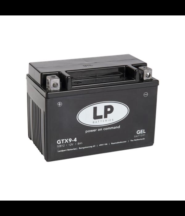 GTX9-4 motor GEL accu 12 volt 8,0 ah (GTX9-BS)