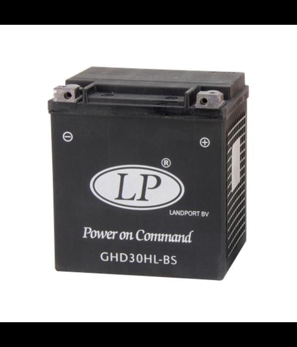 Harley accu GHD30H-3 (GHD30HL-BS) 12 volt 30,0 ah