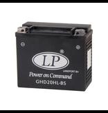 Harley accu GHD20H-3 (GHD20HL-BS) 12 volt 19,0 ah