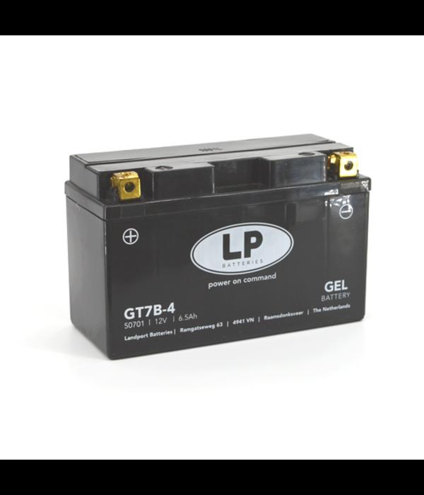 GT7B-4 motor GEL accu 12 volt 6,5 ah