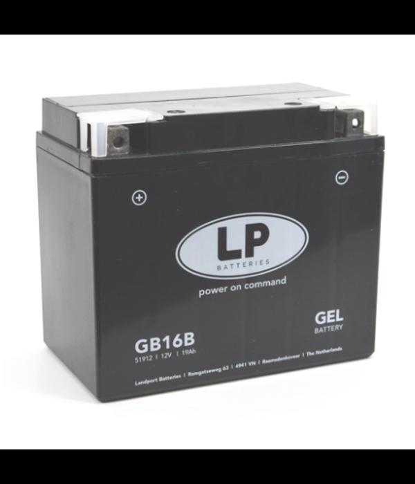 GB16B motor GEL accu 12 volt 19,0 ah