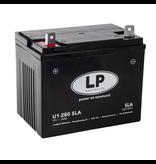 SLA U1-280 grasmaaier / motor accu 12 volt 24 ah