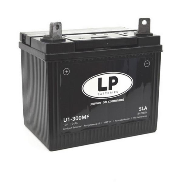 SLA U1-300 MF motor / grasmaaier accu 12 volt 24 ah