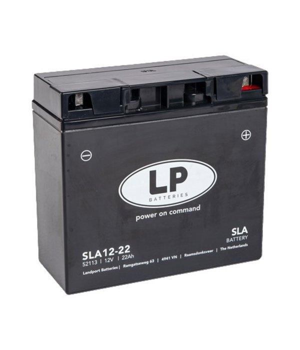 SLA 12-22 Motor accu 12 volt 22,0 ah