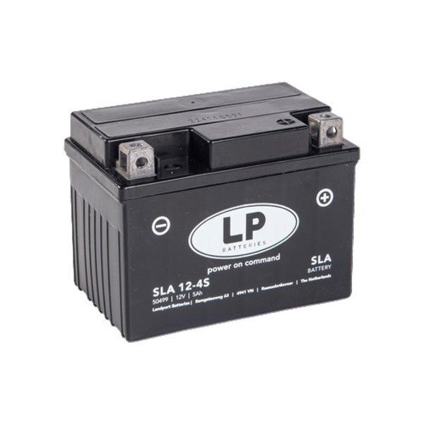SLA 12-4S Motor accu 12 volt 5 ah