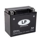 YTX12-4 (SLA 12-10) Motor accu 12 volt 10,0 ah