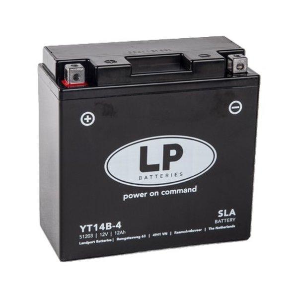 SLA YT14B-4 Motor accu 12 volt 12 ah
