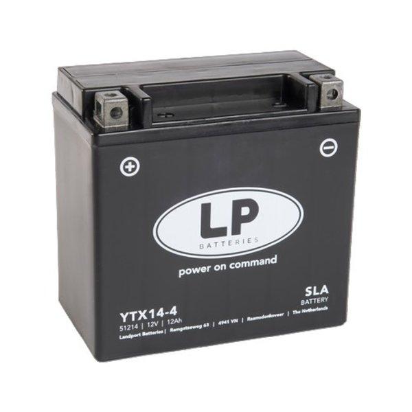 SLA YTX14-4 Motor accu 12 volt 12 ah