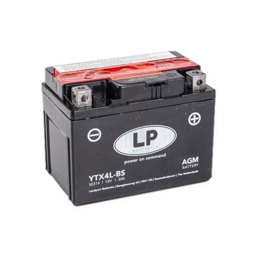 YTX4L-BS 12 volt 3 ah AGM motor accu