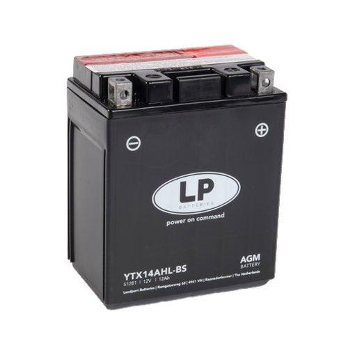 YTX14AHL-BS 12 volt 12 ah AGM motor accu