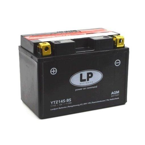 YTZ14S-BS 12 volt 11,2 ah AGM motor accu