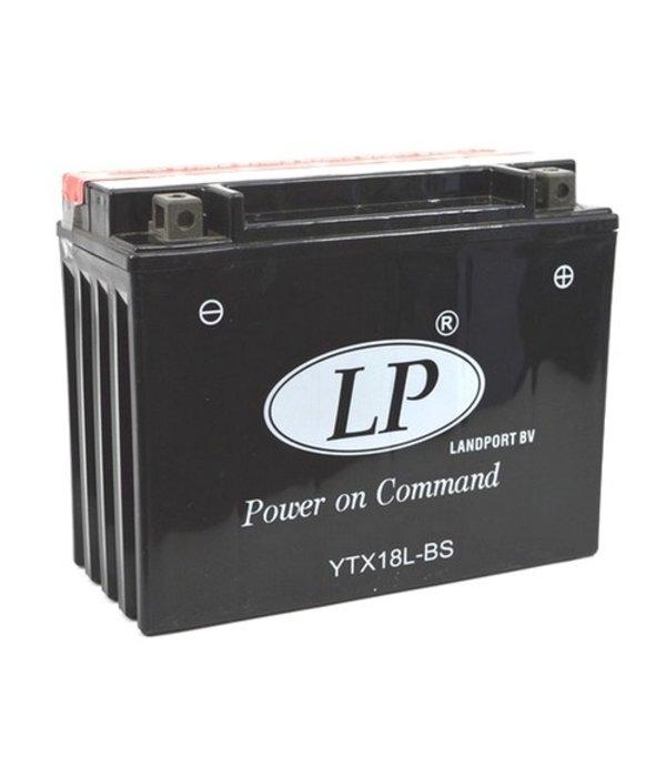 YTX18L-BS 12 volt 18,0 ah AGM motor accu