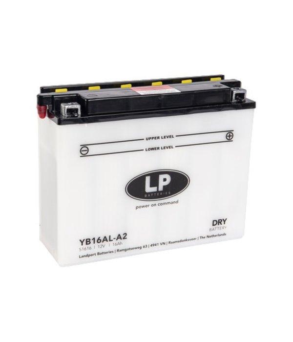 YB16AL-A2 motor accu 12 volt 16,0 ah