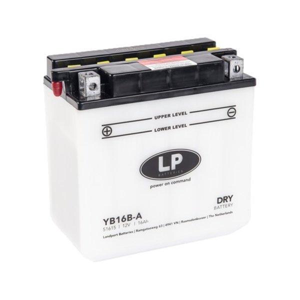 YB16B-A motor accu 12 volt 16 ah