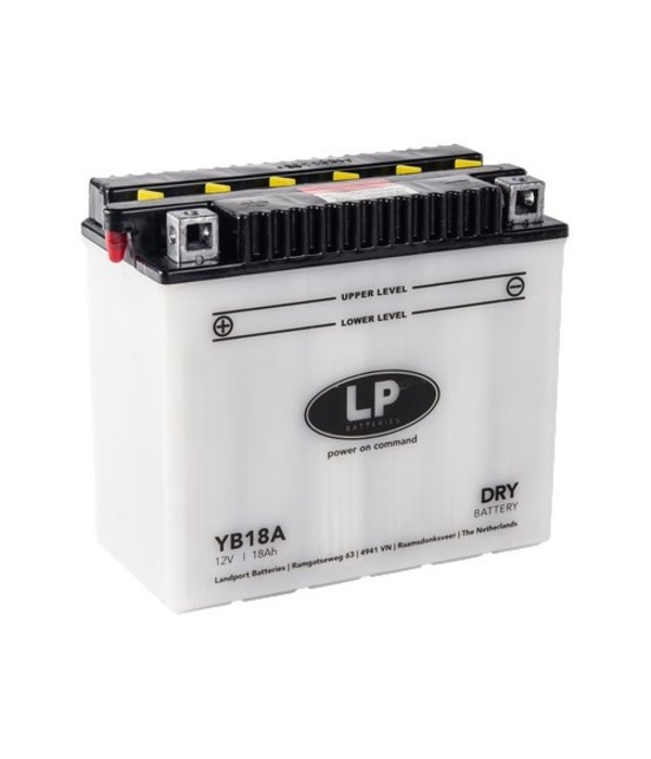 YB18A motor accu 12 volt 18,0 ah