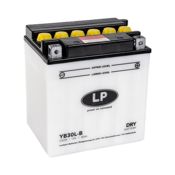 YB30L-B motor accu 12 volt 30 ah