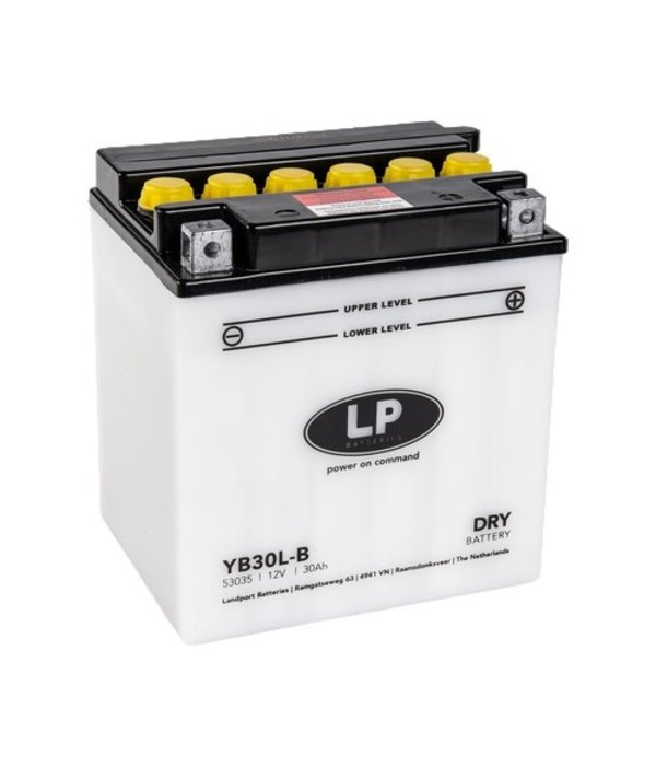 YB30L-B motor accu 12 volt 30,0 ah
