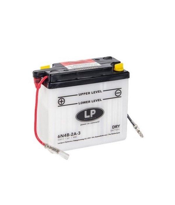 6N4B-2A-3 motor accu 6 volt 4,0 ah