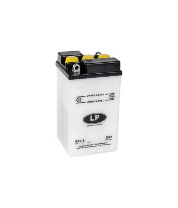 B49-6 motor accu 6 volt 10,0 ah