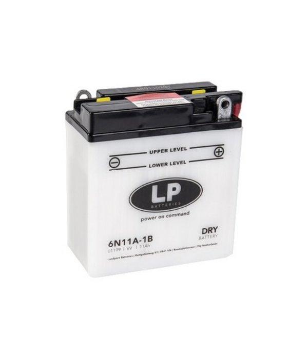 6N11A-1B motor accu 6 volt 11,0 ah