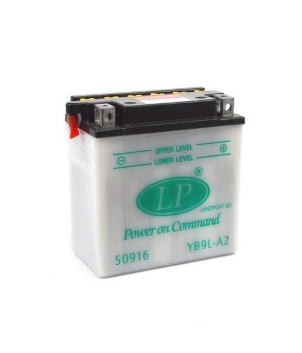 YB9L-A2 motor accu 12 volt 9,0 ah