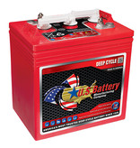 U.S. Battery Deep Cycle accu 6 volt 242 ah type US 125