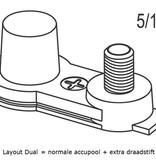 Dynac Deep Cycle accu 6 volt 213 ah Type GF 6210 AGM