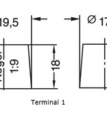 Dynac Gel accu 6 volt 180 ah GB180/6