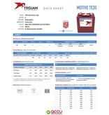 Trojan TE35 Deep-Cycle accu 6 volt 245 ah