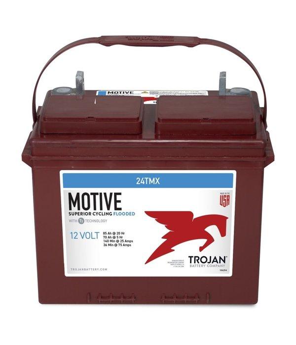 Trojan 24TMX Deep-Cycle accu 12 volt 85 ah