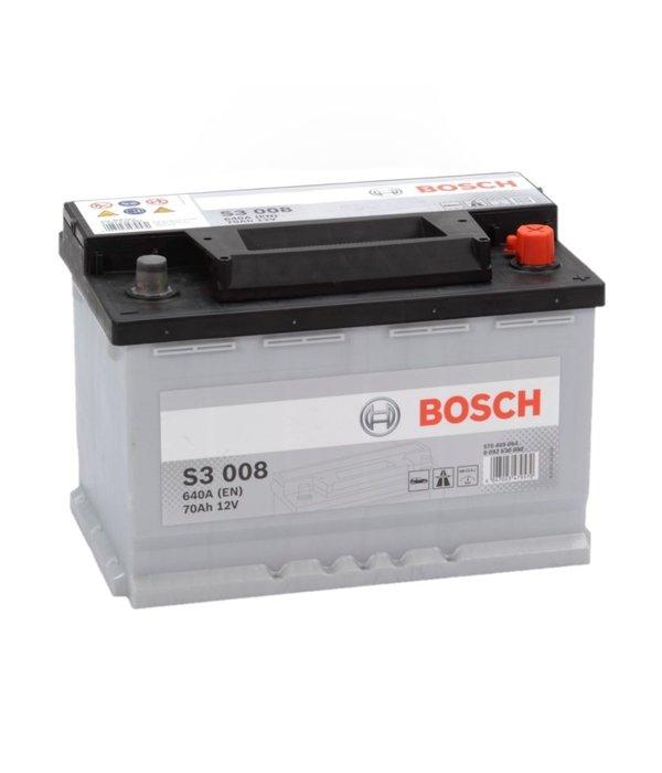 Bosch Auto accu 12 volt 70 ah Type S3008