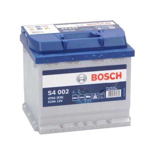 Bosch S4002 start accu 12 volt 52 ah