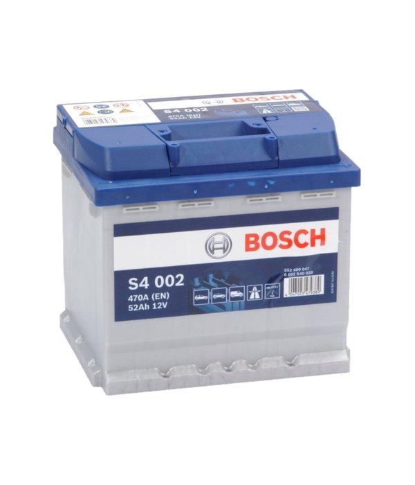 Bosch Auto accu 12 volt 52 ah Type S4002