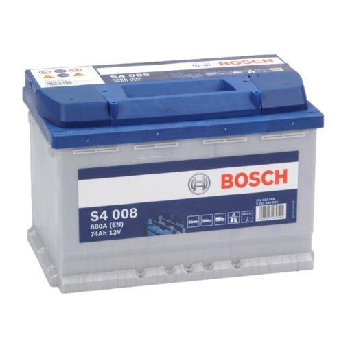 Bosch S4008 start accu 12 volt 74 ah